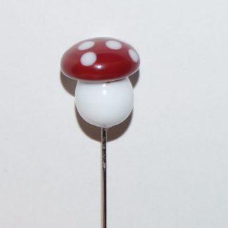 Nipsenål - Rød fluesvamp