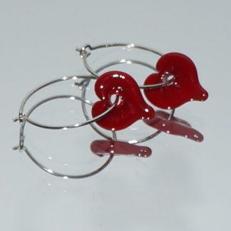 Øreringe - Hjerter