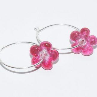 Øreringe - Pink