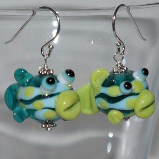 Øreringe - fisk