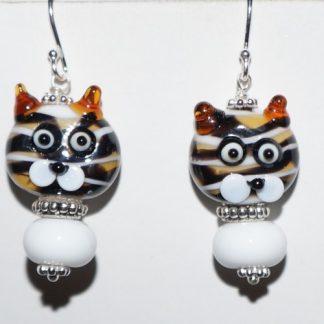 Øreringe - katte